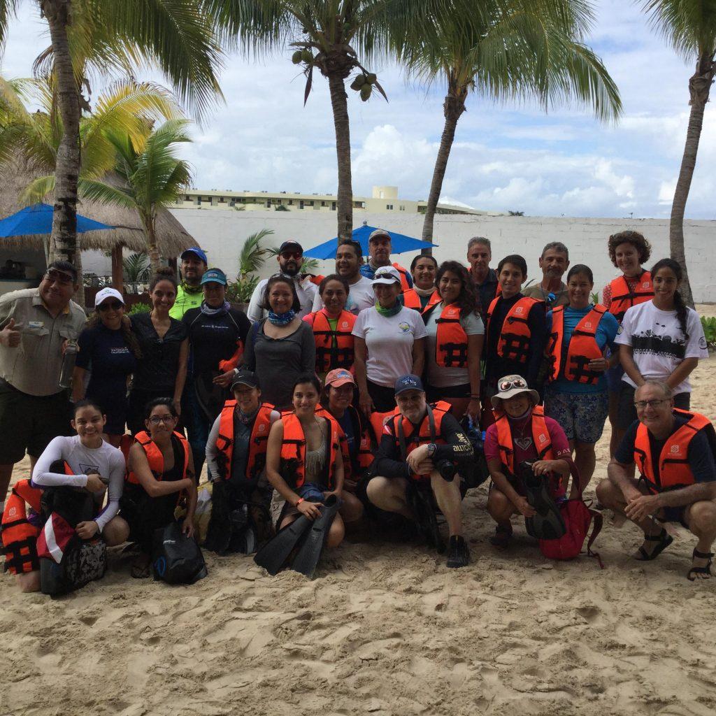 RAD participa en curso sobre restauración de arrecifes como estrategia para la reducción del riesgo costero en Cancún
