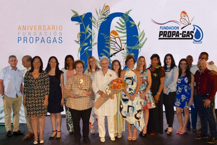 Fundación Propagas celebra 10 años de labor y reconoce a la RAD