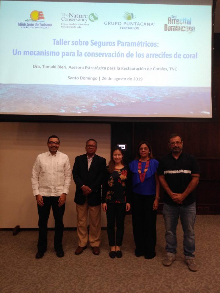 Taller sobre Seguros Paramétricos: un mecanismo para la conservación de los arrecifes de coral